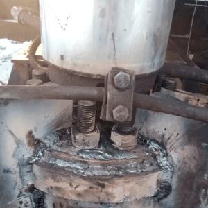 ремонт сваевдавливающей установки на выезде