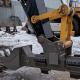 Восстановление осей ковша балки спецтехники