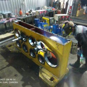ремонт отверстий вибропогружателей