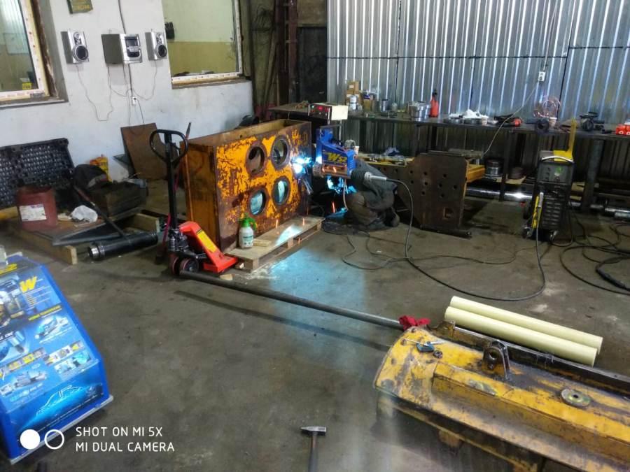 ремонт больших отверстий