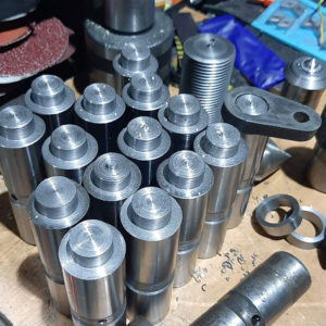 изготовление пальцев на ЧПУ токарном станке